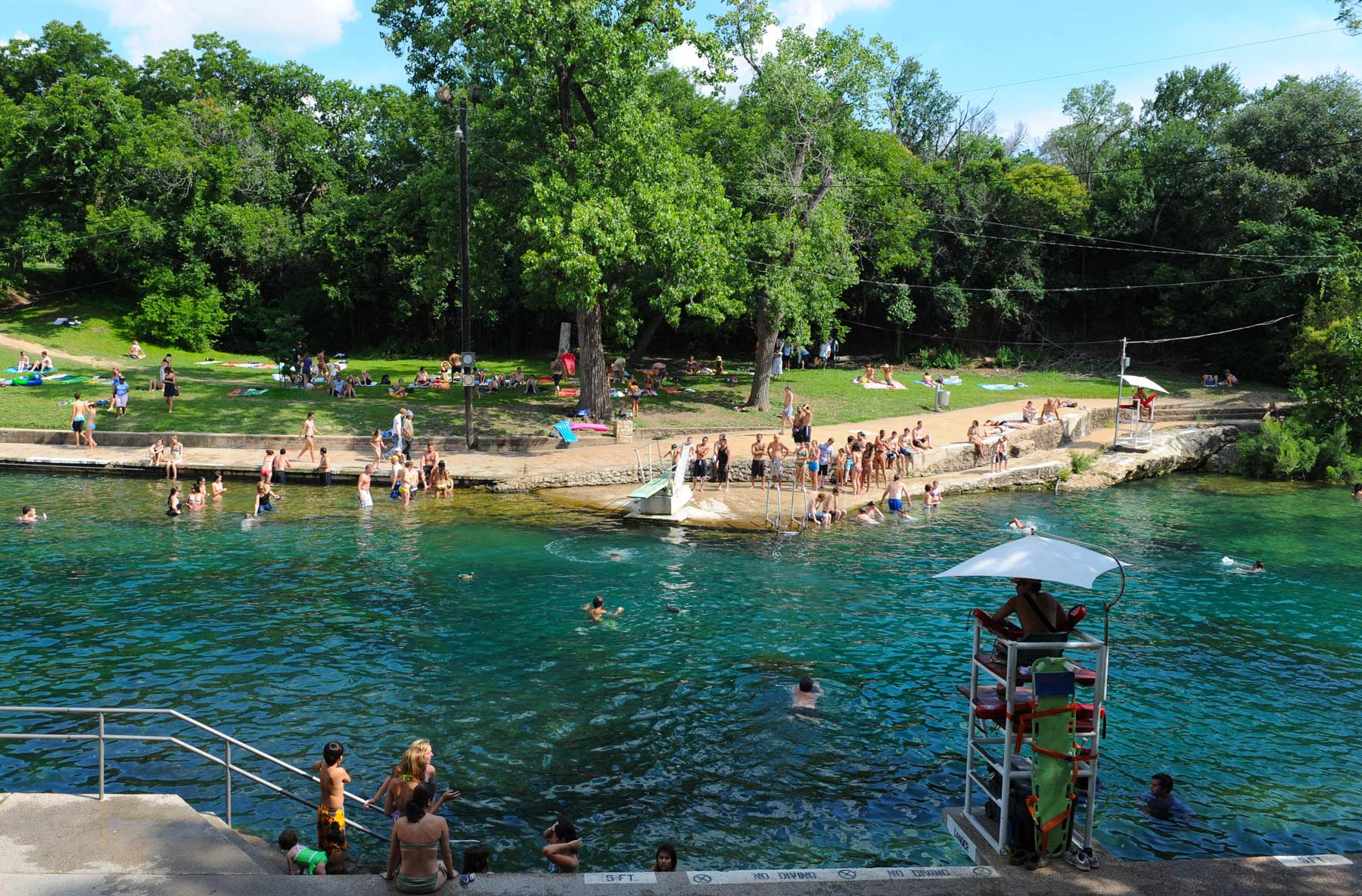 Austin Texas - Barton Springs Pool | Barton springs