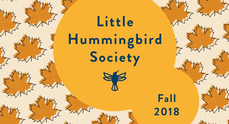 little hummingbird society fall