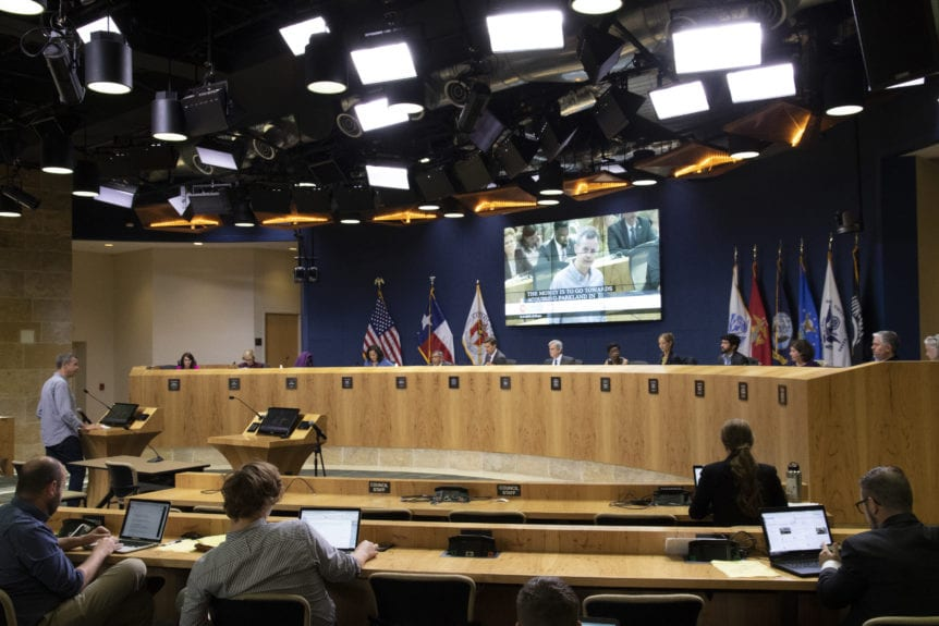APF CEO in front of Austin City Council for new budget