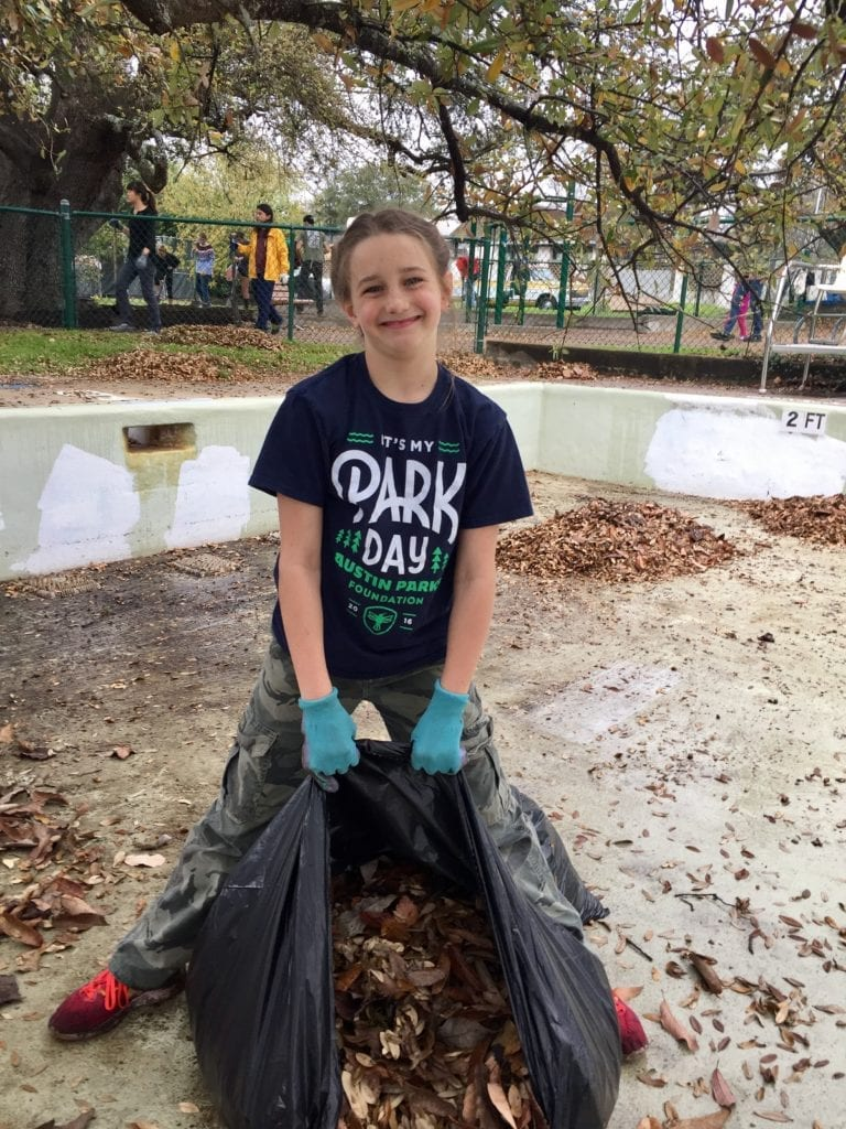 Help Austin Parks Foundation Leave No Trace in our parks!