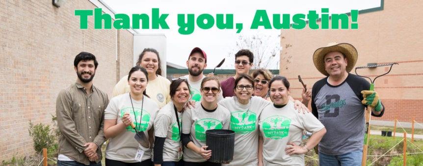 grateful for Austin