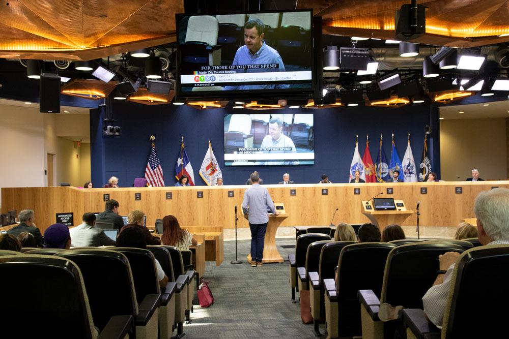 colin wallis of austin parks foundation advocates for Austin's parks