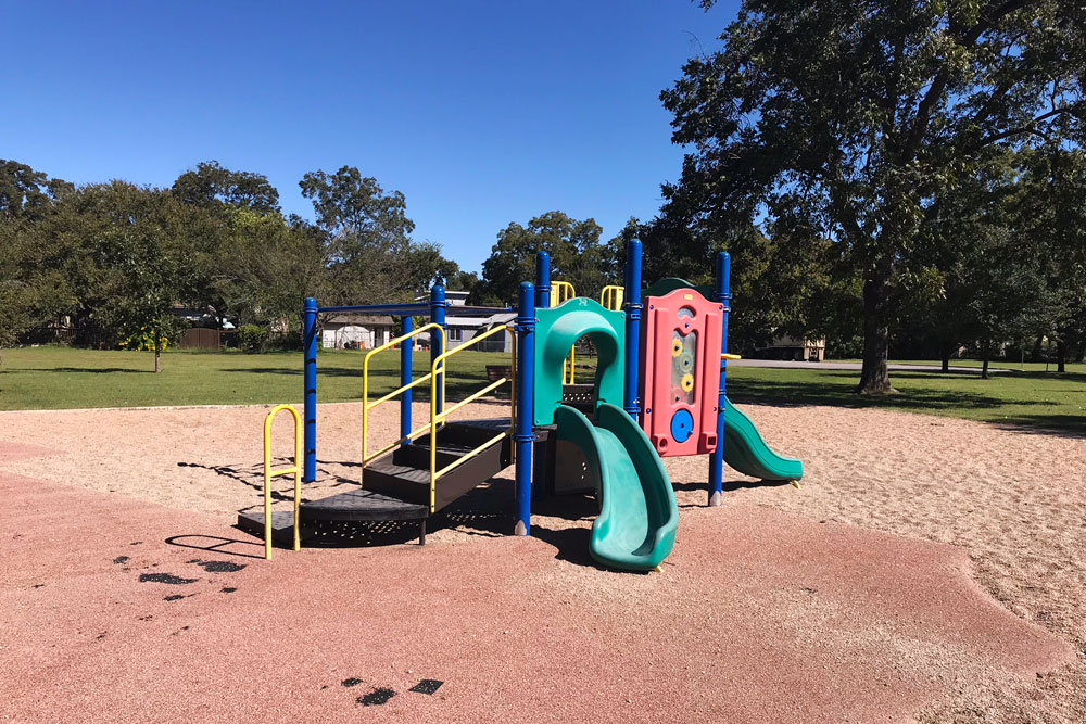 Edward Rendon Sr. Metro Parks old playscape needed a facelift