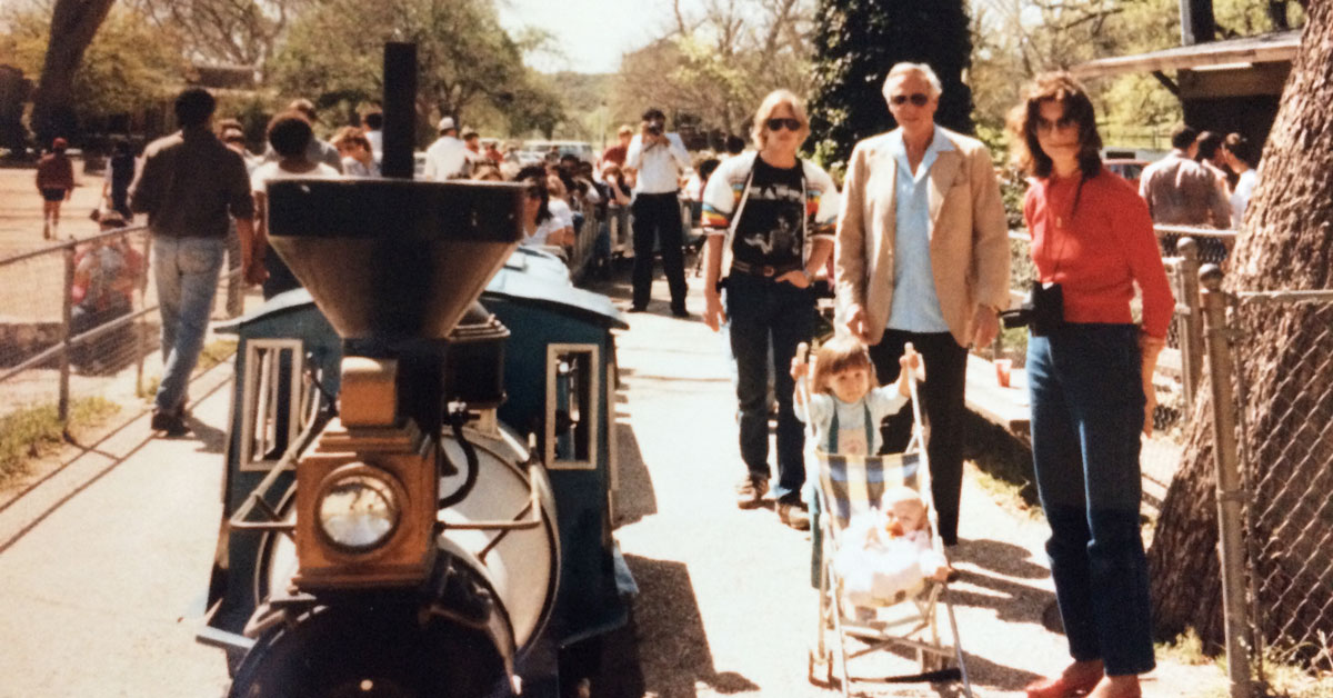 """Featured image for """"People + Parks: Celebrating the History of the Train at Zilker Park"""""""