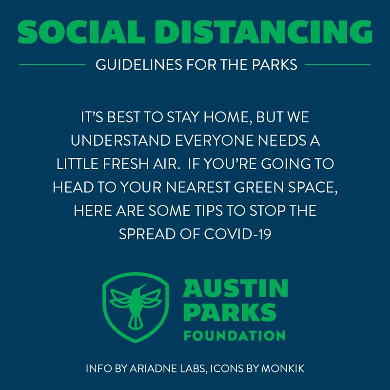 social distance english graphic
