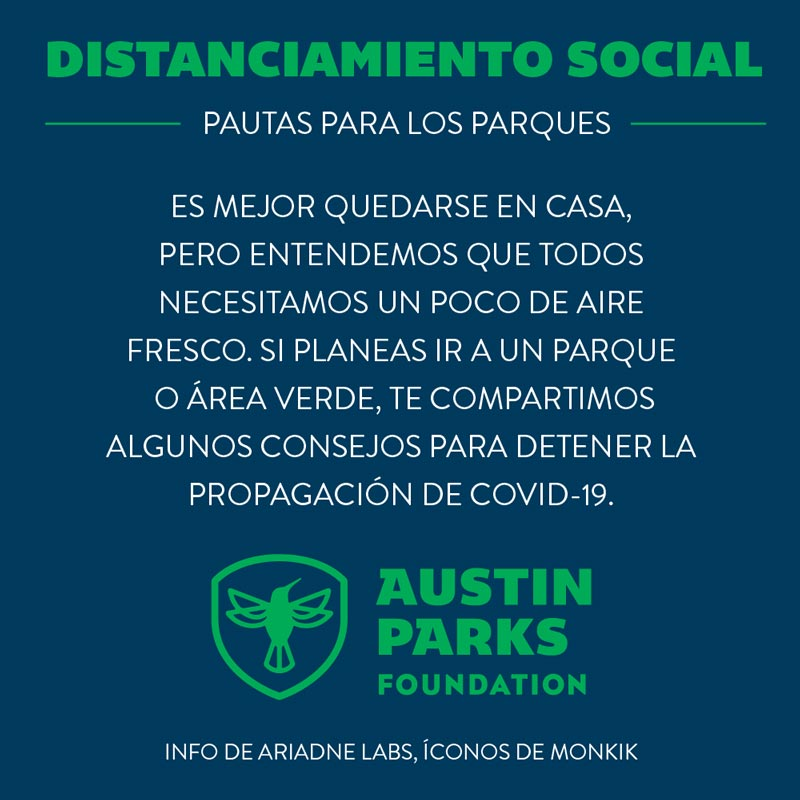 social distance spanish graphic