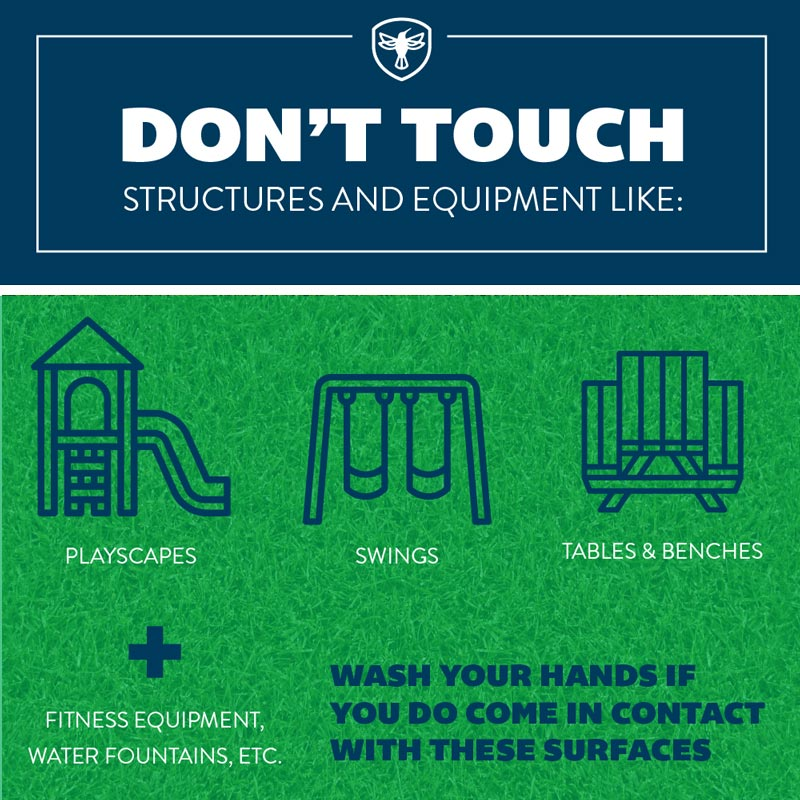 dont touch english social distancing graphic