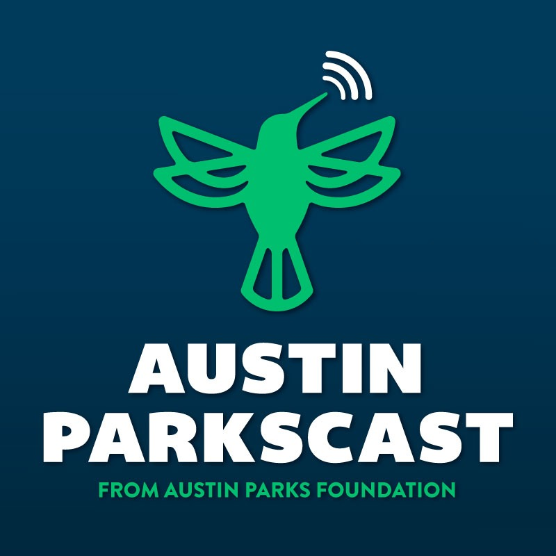 austin parkscast hummingbird logo