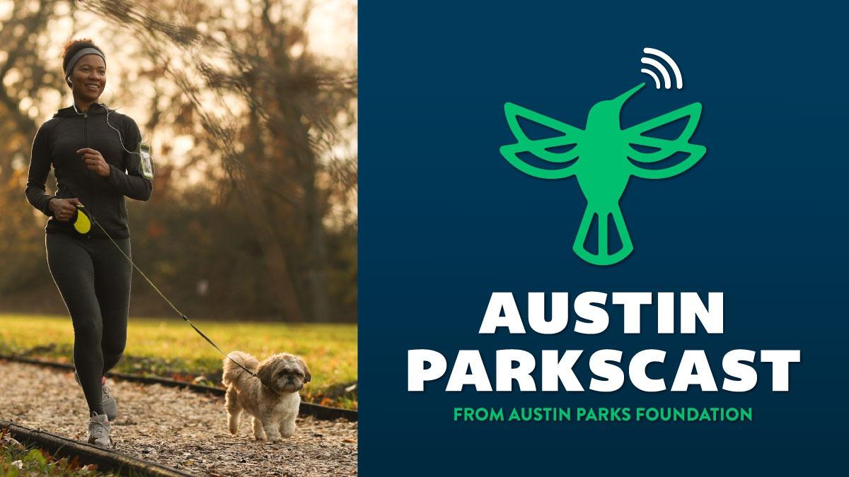austin parkscast social graphic