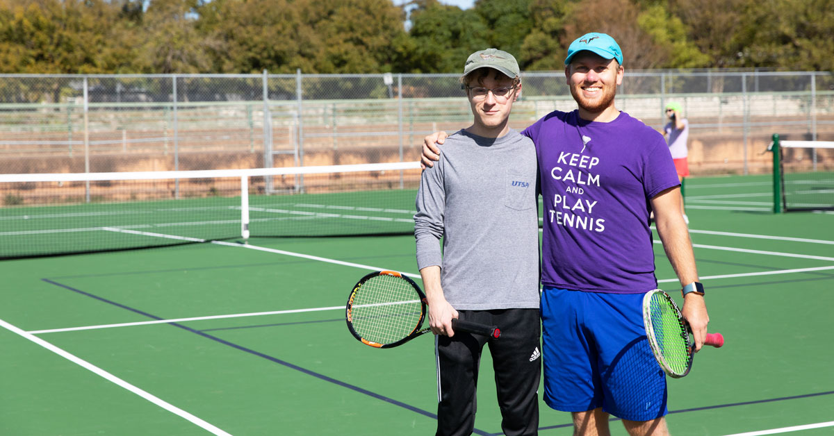 """Featured image for """"Grab Your Rackets: 7 of Austin's Best Outdoor Tennis Courts"""""""
