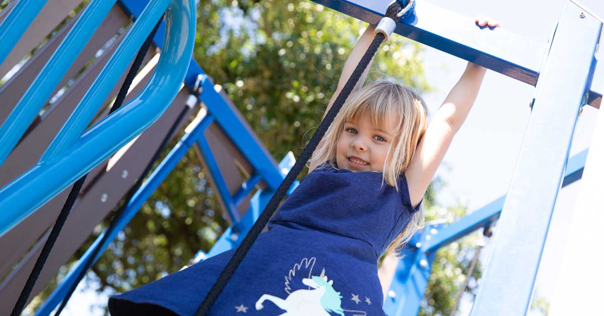 """Featured image for """"Take a Swing at These Playgrounds: 8 Awesome Playscapes in Austin"""""""
